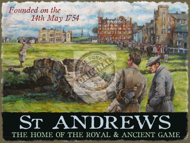 saint andrews sign