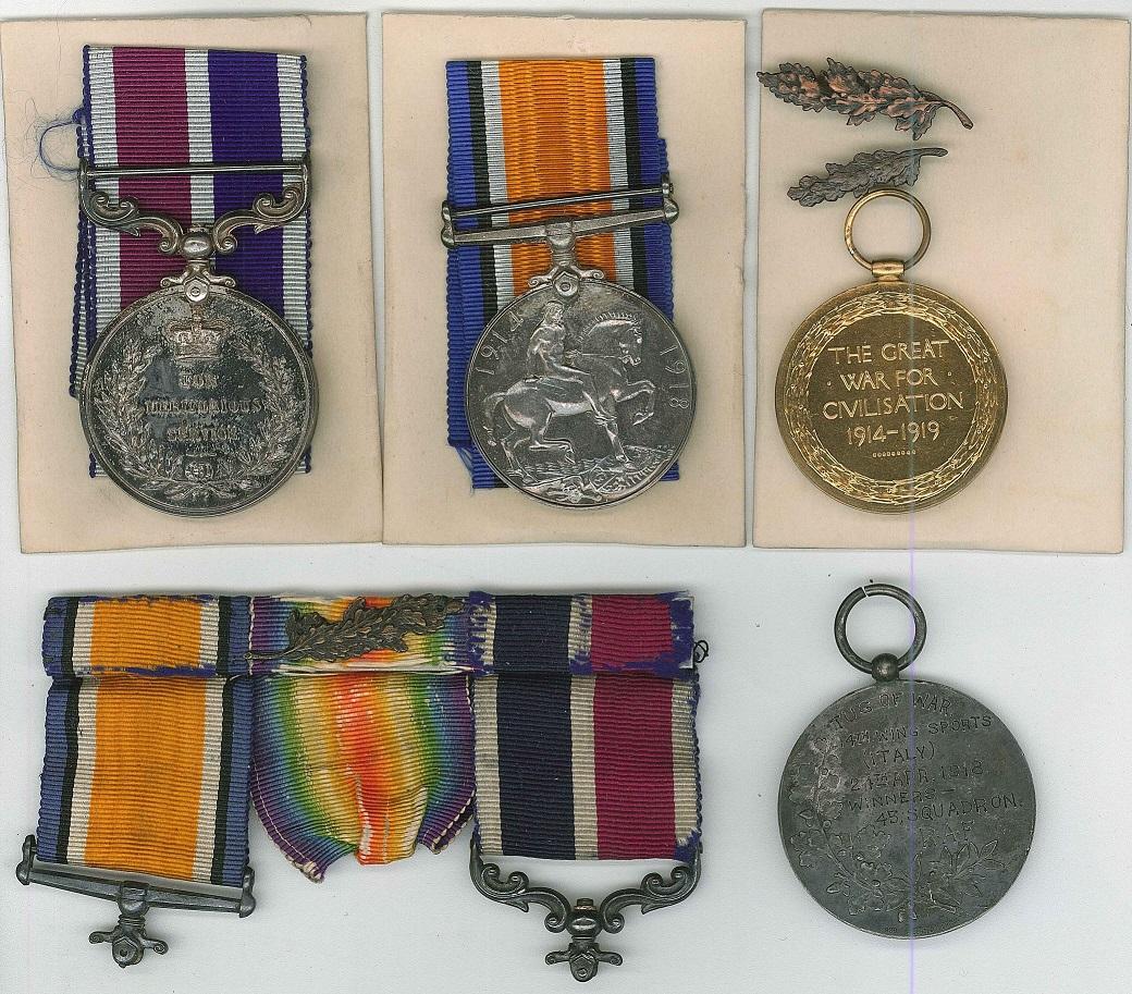 ww1 medals morton