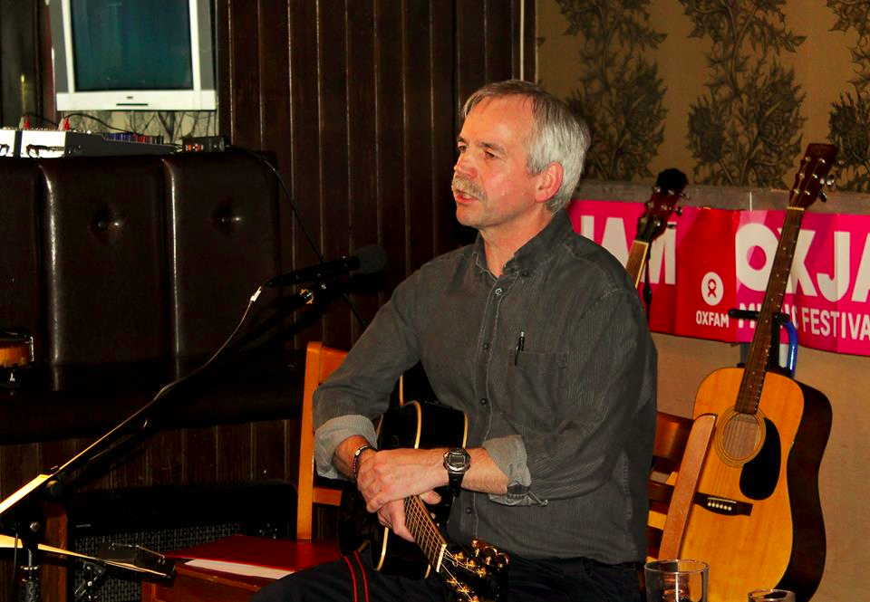 Bob Murray at Oxjam gig, 2013